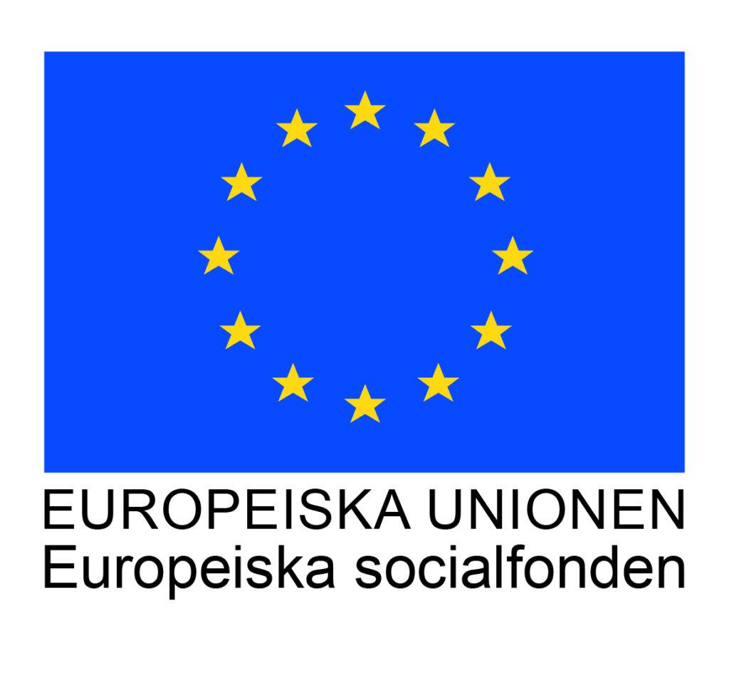 Logotyp för Europeiska Unionens fond Europeiska socialfonden