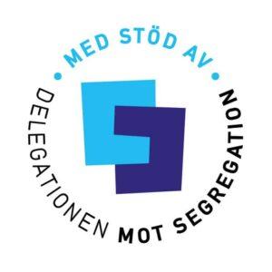Logotyp för Delegationen mot segregation